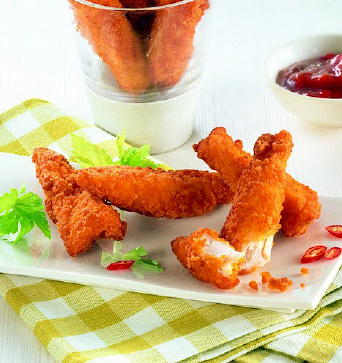 "Chicken Strips ""Spicy Style"""
