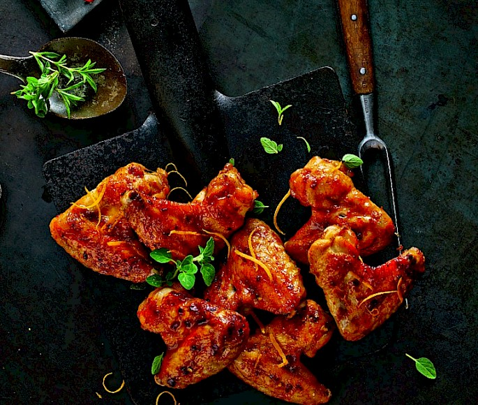 Orangen Chili Wings